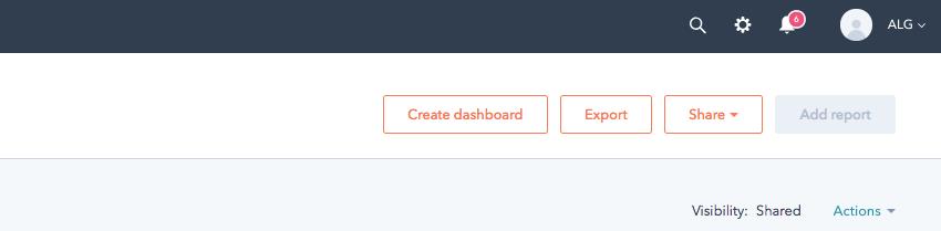 Automate sharing Hubspot reporitng