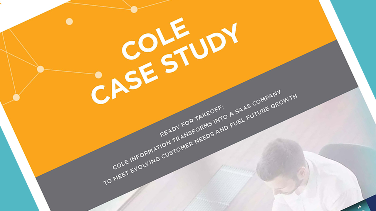 SaaS Case Study: Cole Information