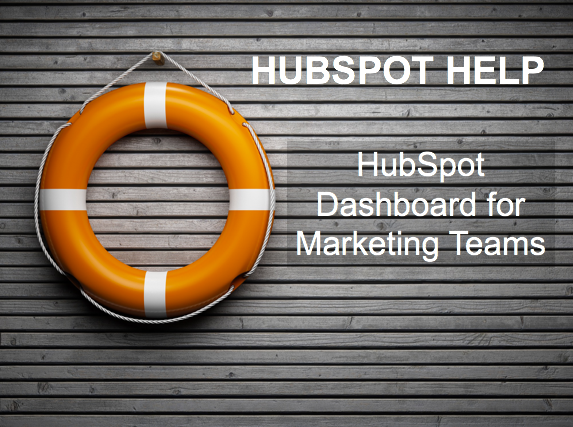 HubSpot Help Marketing Dashboard